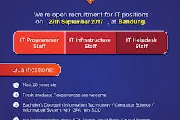Lowongan Kerja IT PT Indomobil Finance Indonesia (Perseroan)