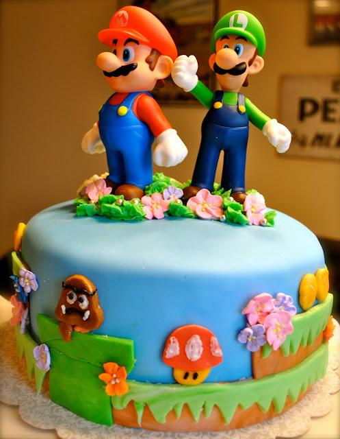 Bolos Mario Bros