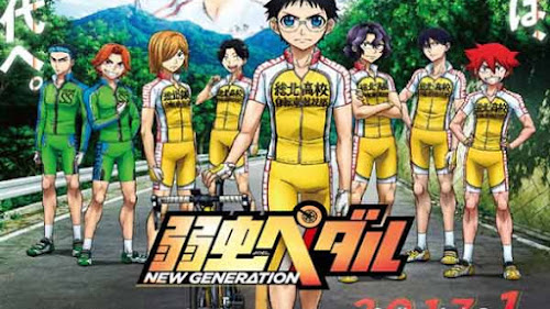 Descarga Yowamushi Pedal: New Generation [11/?][Sub][Mega]
