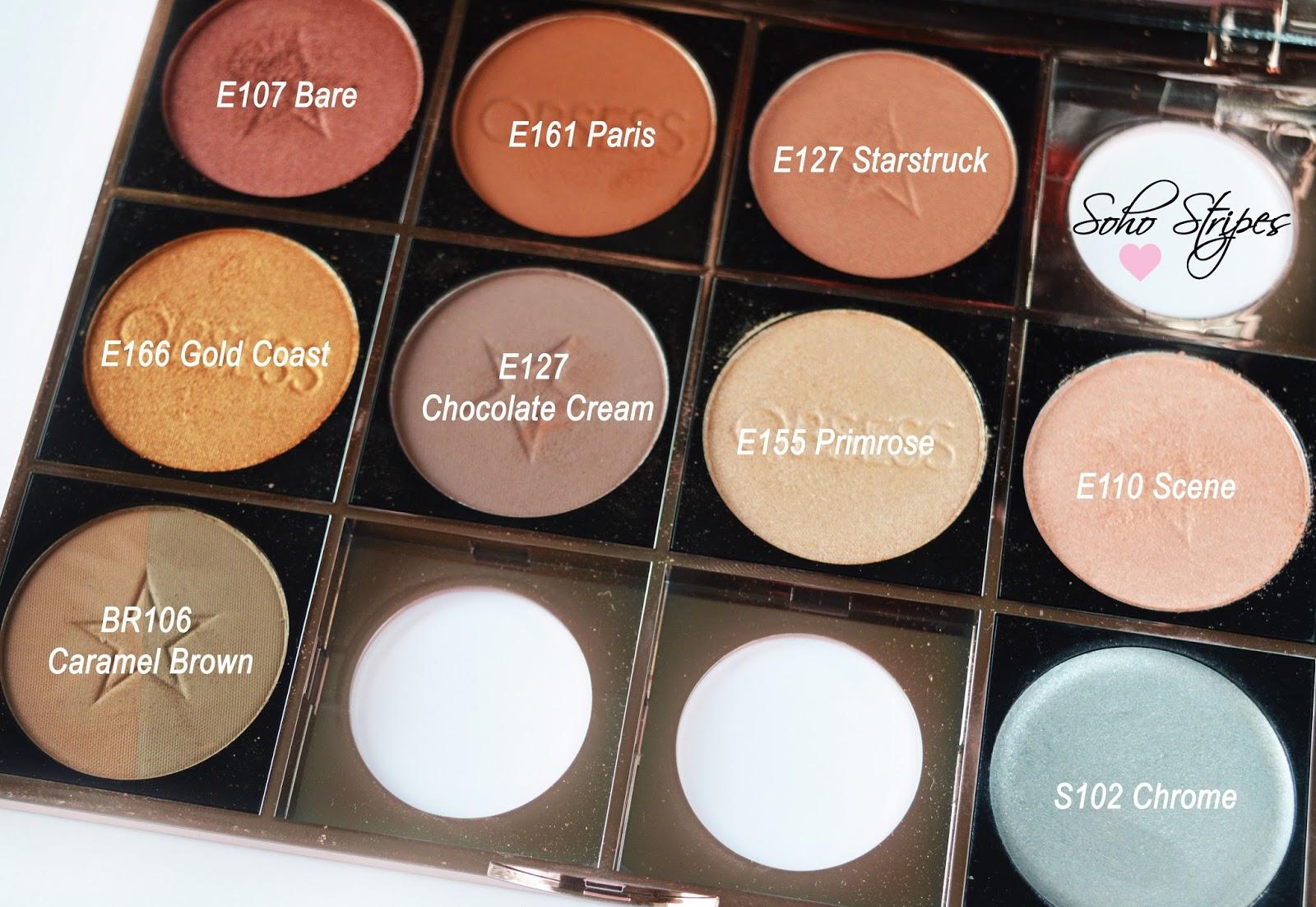 Makeup Obsession Custom Rose Gold Palette