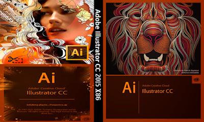 Adobe Illustrator CC 2014 x86-Bit DVD Capa