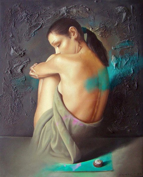 Dimitar Voinov Jr | Bulgarian Figurative Painter | 1971