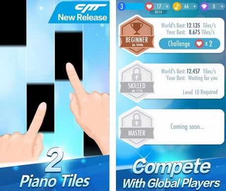 Piano Tiles 2 - Δωρεάν διασκεδαστικό παιχνίδι με εκατομμύρια παίκτες