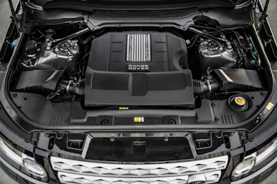 2017 Land Rover Discovery engine