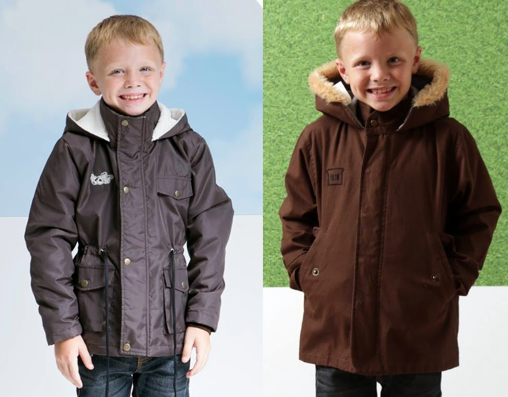 Jaket Anak Model Parka