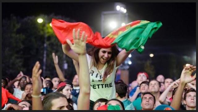 pesta kemenangan portugal