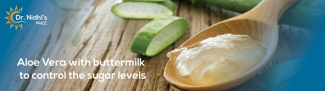 How aloe vera reduces sugar level in your body
