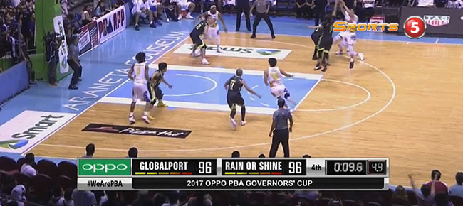 Rain or Shine def. GlobalPort, 98-96 (REPLAY VIDEO) July 21