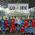 Dilatih Essien dan Bachdim, Mitra Driver GO-JEK Gelar Pertandingan Persahabatan Futsal