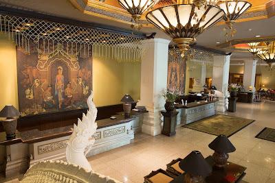 Lobby Chiang Mai Plaza Hotel in Chiang Mai, Thailand