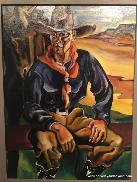 """Cow-Man"" by Russell Vernon Hunter at Panhandle-Plains Historical Museum in Canyon, Texas"