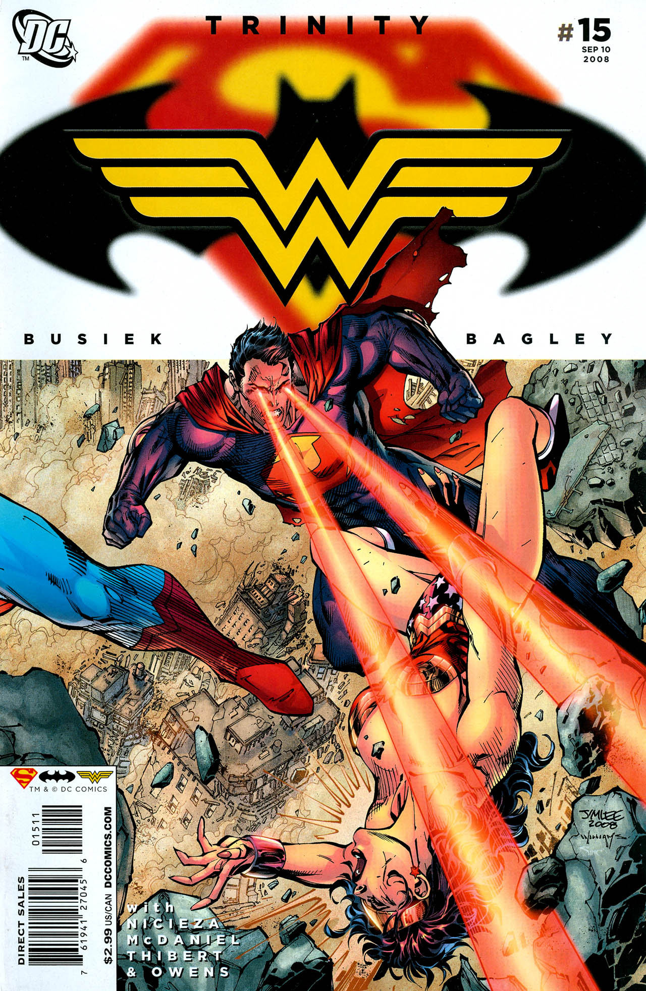 Read online Trinity (2008) comic -  Issue #15 - 1