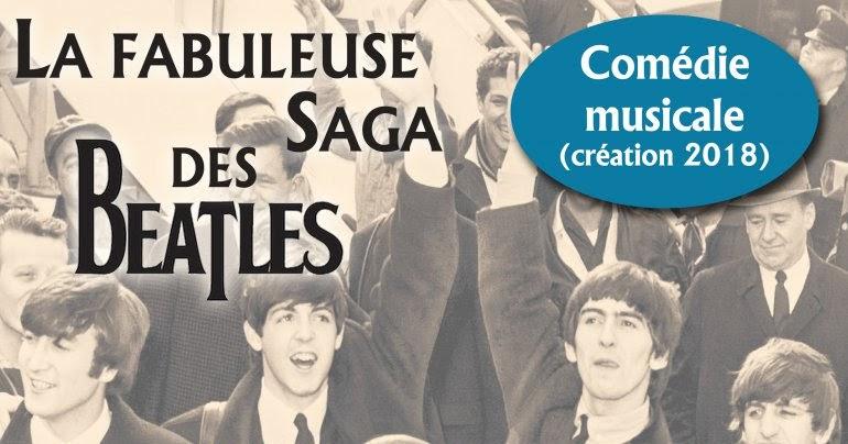 La fabuleuse saga des Beatles en comédie musicale à Somain