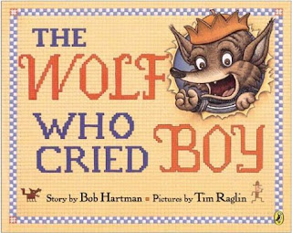 The Wolf Who Cried Boy I Book about honesty