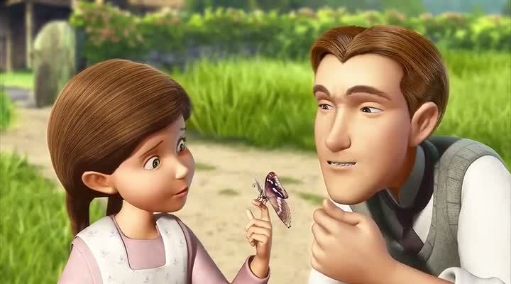 Screen Shot Of Tinker Bell and the Great Fairy Rescue (2010) Dual Audio Movie 300MB small Size PC Movie