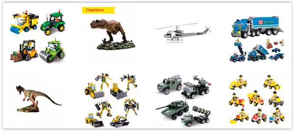 brinquedos da loja Tmart