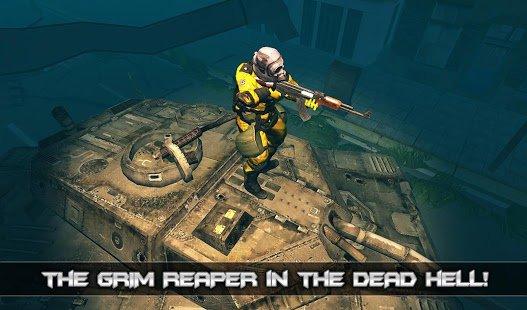 memburu zombi dengan senjata mutakhir