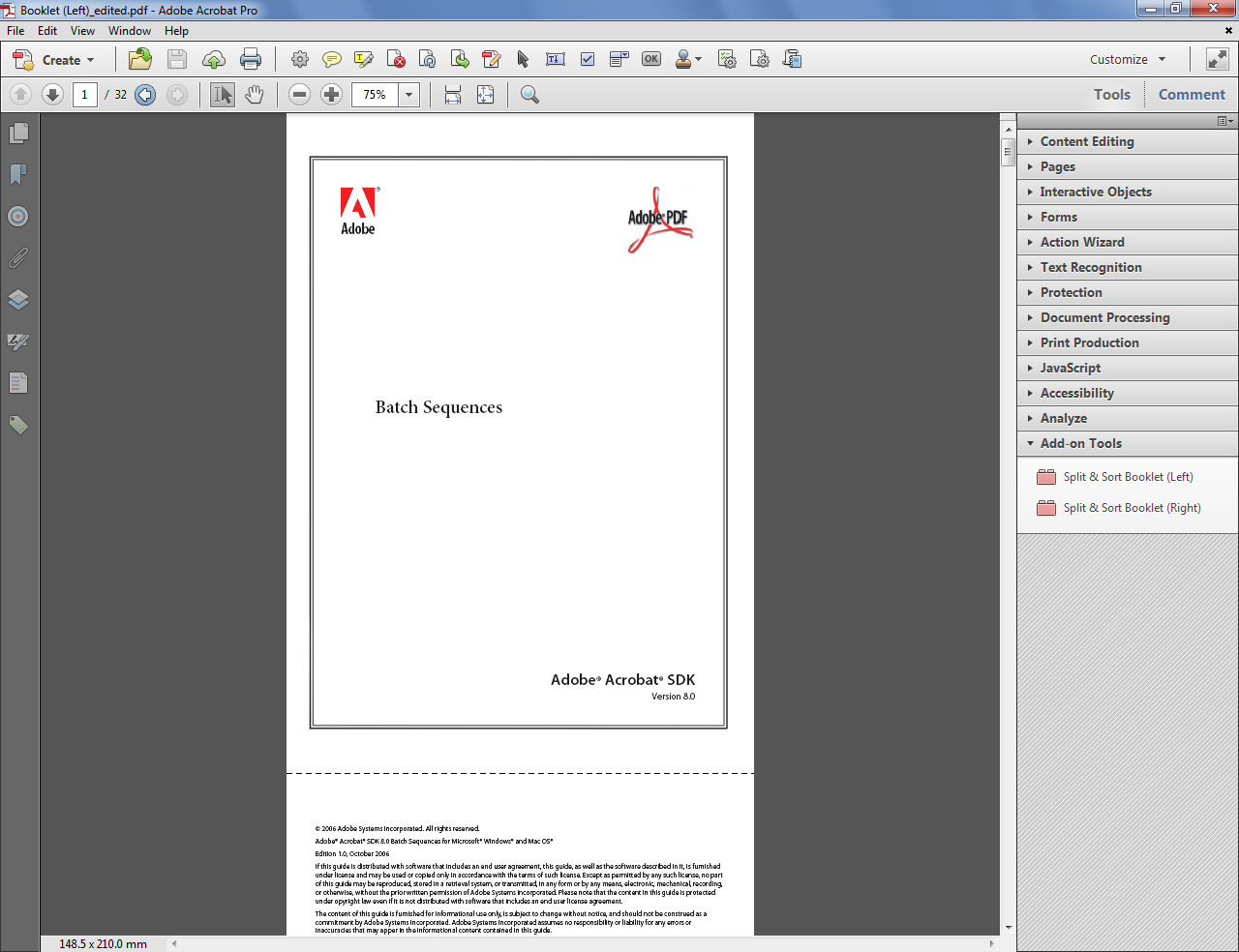 Custom-made Adobe Scripts: 2013
