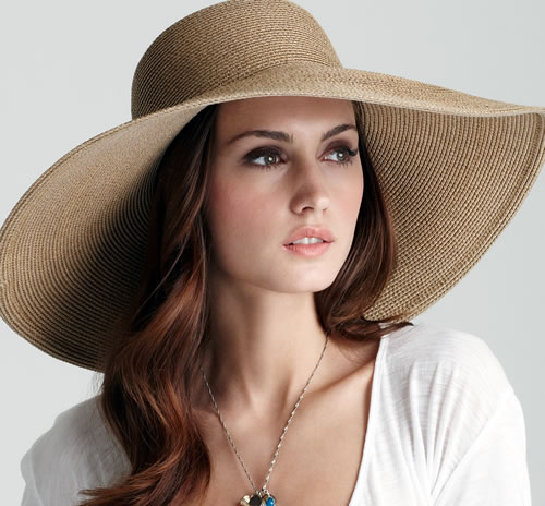 Fablous Girls World: Stylish Sun Hats For Pretty Girls