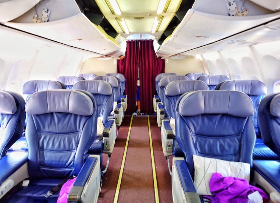 Malaysia Airlines B738 Business Class