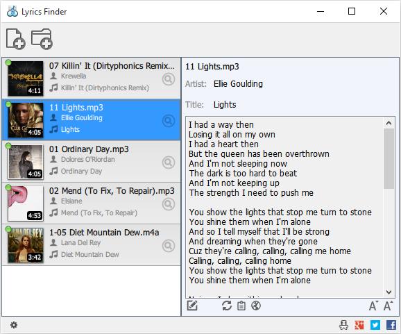 MediaHuman Lyrics Finder |Gasiti versurile cantecelor favorite