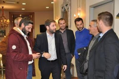 Σε γνωστό ξενοδοχείο της πόλης του Αγρινίου παραχώρησε συνέντευξη τύπου στα  τοπικά ΜΜΕ χθες το απόγευμα ο υποψήφιος ευρωβουλευτής για την  κεντροαριστερά ... 8e700da3043