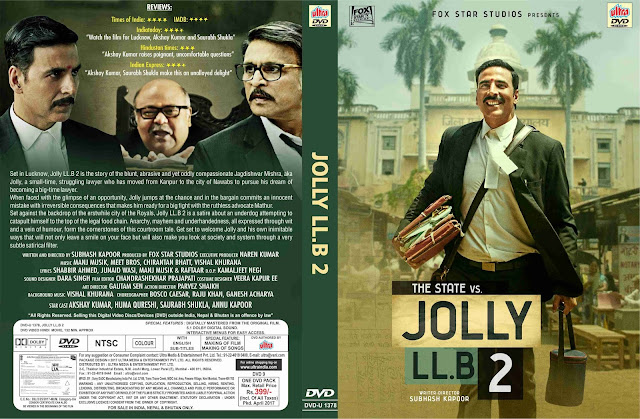 "Ultra Group launched the DVD & VCD pack of Akshay Kumar's Courtroom Drama ""Jolly LLB 2"""