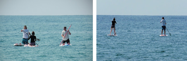 Learning SUP with Sun Sea Adventures Spain