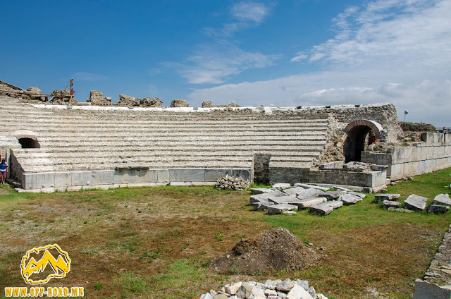 Theatre #Stobi Archaeological site #Macedonia