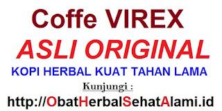 Original khasiat Coffee/kopi Virex ASLI stamina kuat pria dewasa