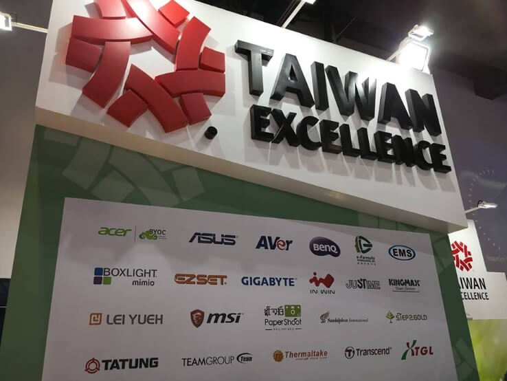 Taiwan Excellence Showcases Best of Taiwan Tech at SIP 2018