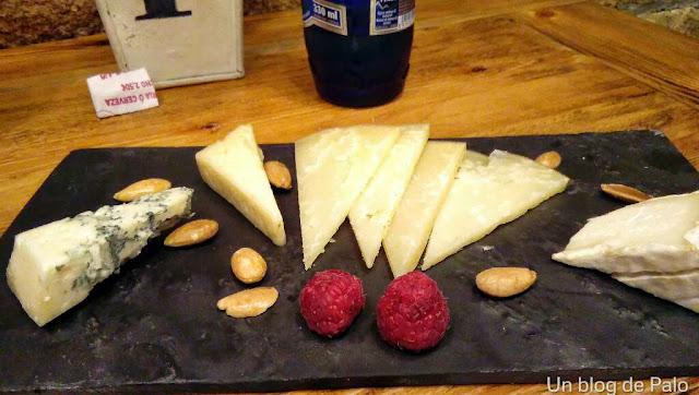 iPan iVino restaurante Salamanca, tabla de quesos artesanos