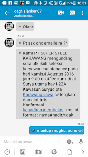 PT. SUPER STEEL KARAWANG