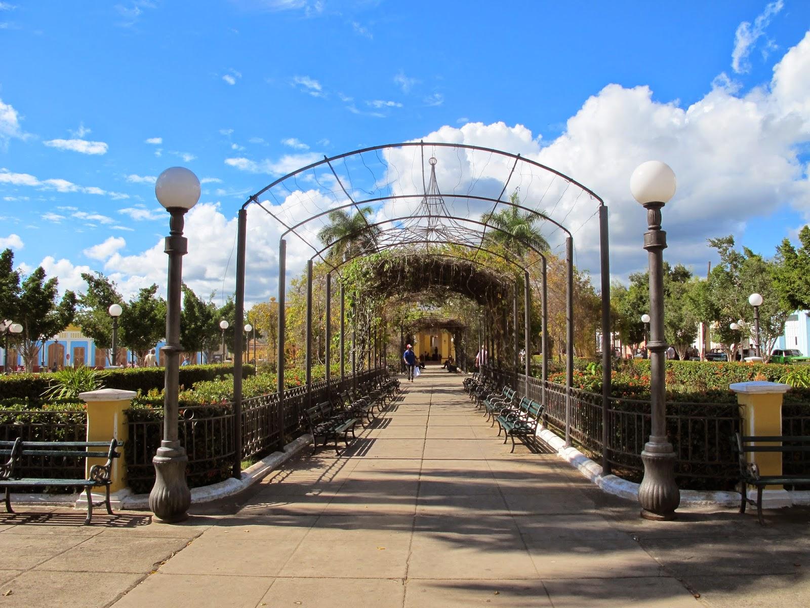 Plaza Carillo, no Centro histórico de Trinidad, em Cuba.
