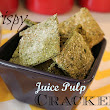 Crispy Juice Pulp Cracker Recipe