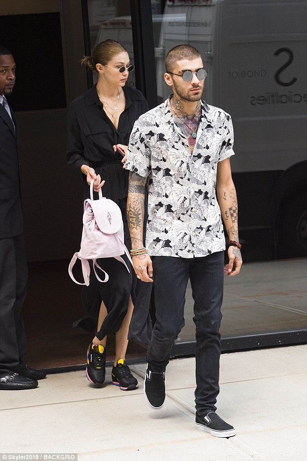 Gigi Hadid and Zayn Malik steps out together in New York after rekindling their romance
