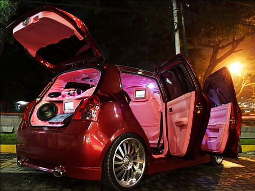 Tips Modifikasi Audio Mobil Suzuki