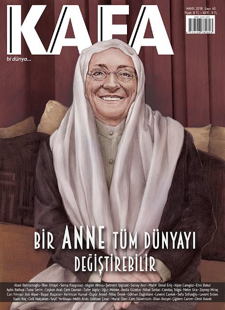 kafa dergisi mayıs 2018 kapak