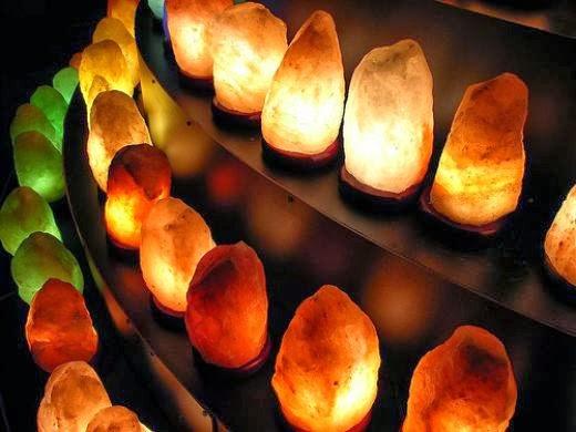 A sólámpa és a sóbarlangok hatásai