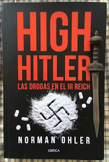 Portada del libro High Hitler, de Norman Ohler