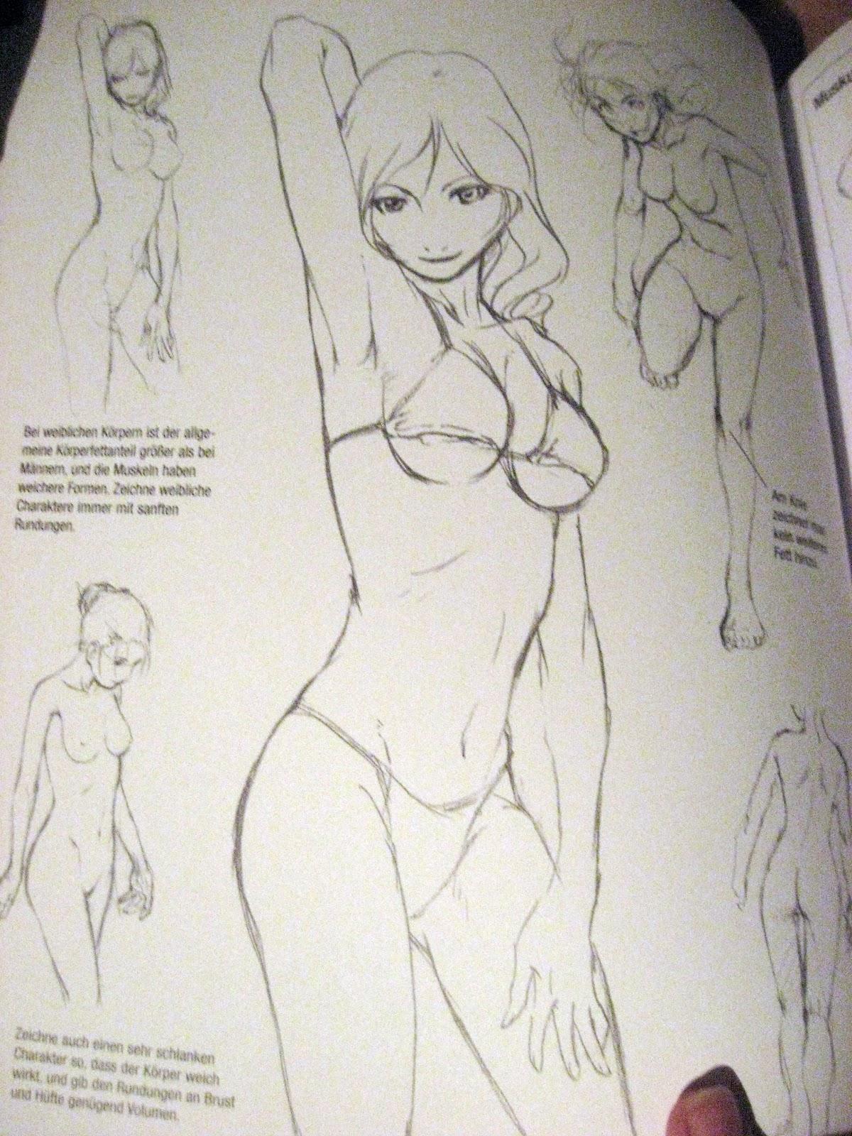 manga köpfe zeichnen