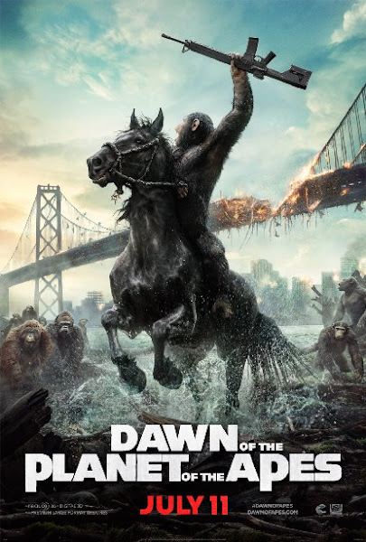 Poster Of Dawn Of The Planet Of The Apes 2014 720p BRRip Dual Audio