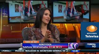 En esta entrevista Claudia nos invita a clases de introducción en su centro y recuerda las MUY PROXIMAS CERTIFICACIONES PARA PROFESORES 3-10 NOVIEMBRE MEXICO DISTRITO FEDERAL, con Rafael Martínez creador de este método artístico de crecimiento personal y su equipo.Para mas informes WEB WWW.AEROYOGA.ES MAIL aeroyoga@aeroyoga.info TELEFONO WHATSAPP INTERNATIONAL: 00 +34 680905699 CONTACTO EN MEXICO: (55) 59661095