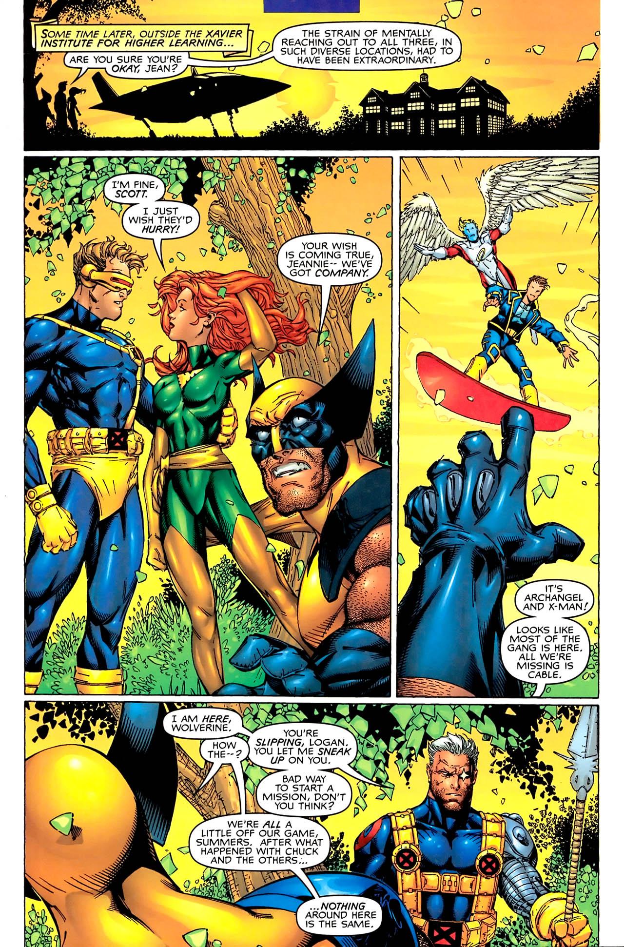 Read online Astonishing X-Men (1999) comic -  Issue #1 - 7
