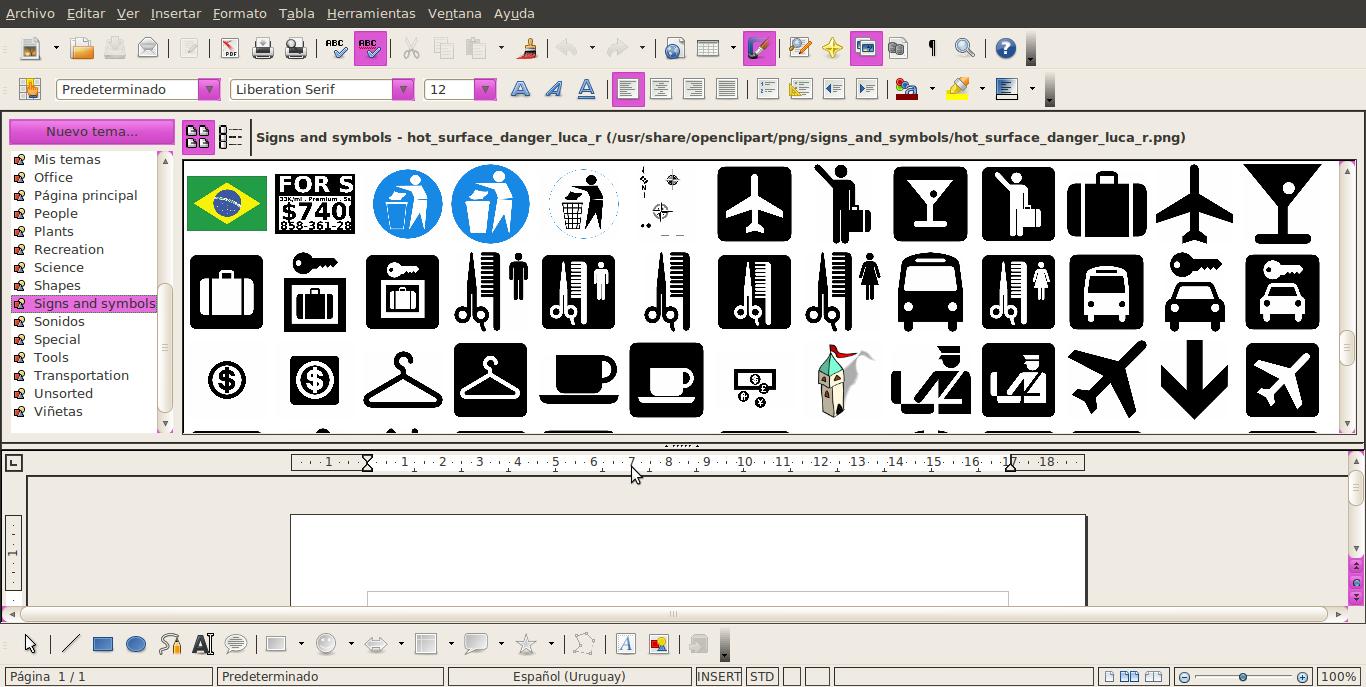 Acerca de Ubuntu: OpenClipArt: galería de imágenes ...