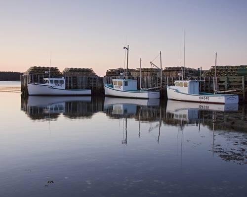Harrigan Cove, N.S. photo by Robert Moser