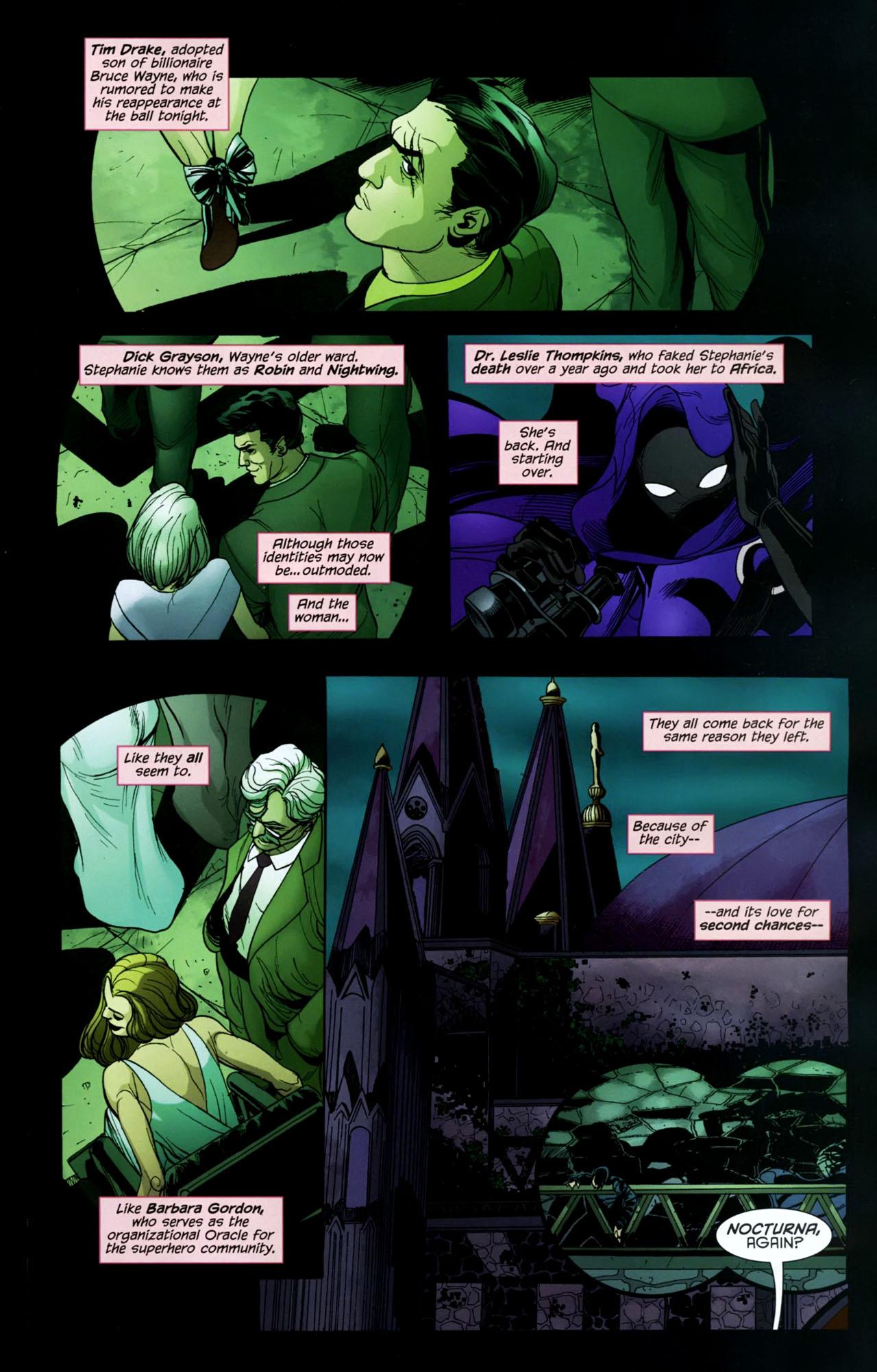 Read online Gotham Gazette comic -  Issue # Issue Batman Alive - 14