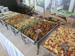 paket nasi boxs di villa sari ater