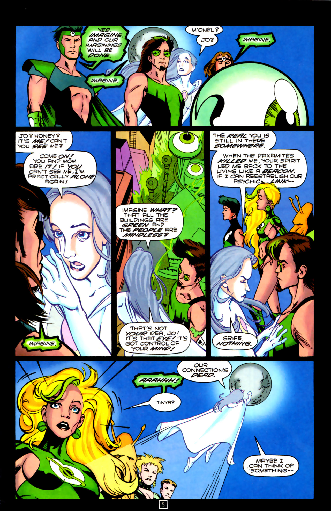 Legion of Super-Heroes (1989) 84 Page 4