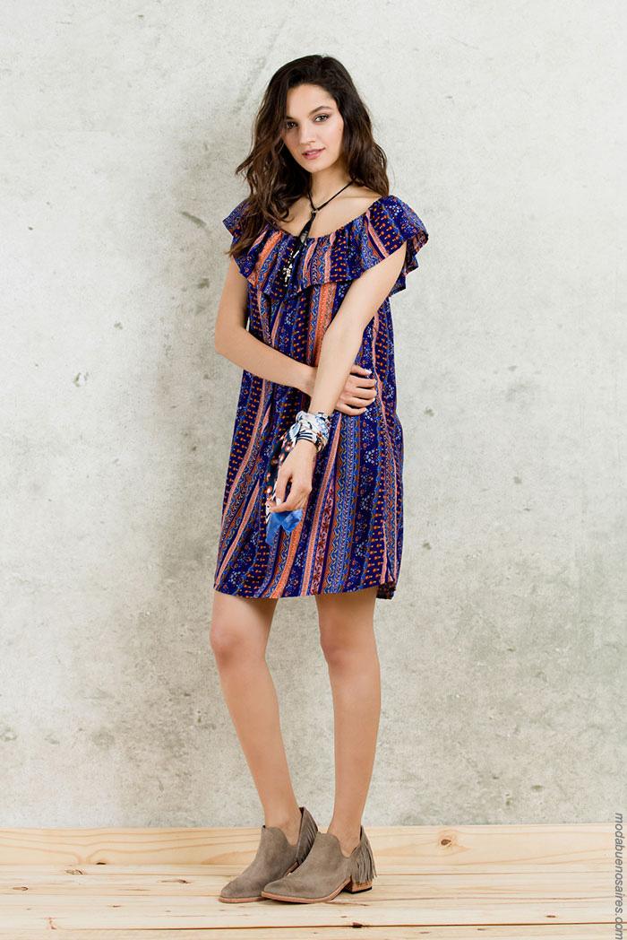 Moda mujer verano 2017 ropa de moda verano 2017 vestidos de moda.